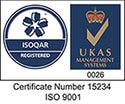 ISO 9001 Henniker Logo